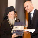 Δείπνο προς τιμήν της Α.Π.Θ. του Οικουμενικού Πατριάρχη κ.κ. Βαρθολομαίου