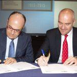 Υπογραφή Μνημονίου Συνεργασίας μεταξύ του Συνδέσμου Βιομηχανιών Βορείου Ελλάδος και της Τράπεζας Εμπορίου και Ανάπτυξης Ευξείνου Πόντου