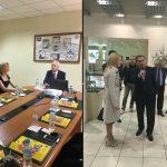 Επισκέψεις της Υφυπουργού κας Θ. Τζάκρη σε επιχειρήσεις του Νομού  Σερρών