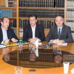 Διαχείριση κονδυλίων του αναπτυξιακού νόμου από την ΕΜΑ. Συνάντηση της Διοίκησης του ΣΒΒΕ με τον Υπουργό Μακεδονίας Θράκης κ. Γεώργιο Ορφανό