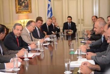 Η αυτονόητη υποστήριξη της βιομηχανίας από την ελληνική πολιτεία, παραμένει ακόμη ζητούμενο – Συνάντηση της Διοίκησης του ΣΒΒΕ με τον Πρωθυπουργό