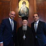 Συνάντηση της Διοίκησης του ΣΒΒΕ με την Α.Θ.Π. τον Οικουμενικό Πατριάρχη, κ.κ. Βαρθολομαίο