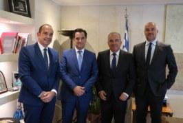 Συνάντηση της Διοίκησης του ΣΒΕ με τον Υπουργό Ανάπτυξης και Επενδύσεων, κ. Άδωνι Γεωργιάδη και τον Υφυπουργό Ανάπτυξης και Επενδύσεων κ. Νίκο Παπαθανάση, στην Αθήνα
