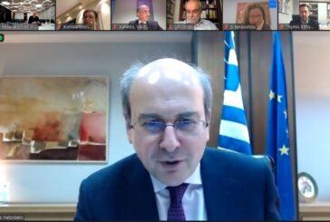 Συνάντηση εργασίας της Διοίκησης του ΣΒΕ με τον Υπουργό Εργασίας και Κοινωνικών Υποθέσεων κ. Κωστή Χατζηδάκη
