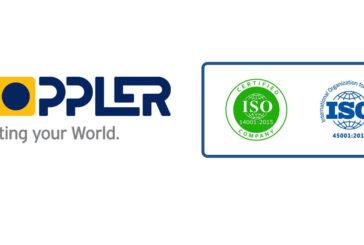 DOPPLER - Νέα Πιστοποιητικά ISO / ISO 14001:2015 & ISO 45001:2018