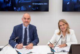 Μνημόνιο συνεργασίας Ελληνικής Αναπτυξιακής Τράπεζας και ΣΒΕ. Επισφραγίστηκε η συνεργασία των δύο φορέων